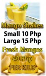 Mango Shakes Made Fresh