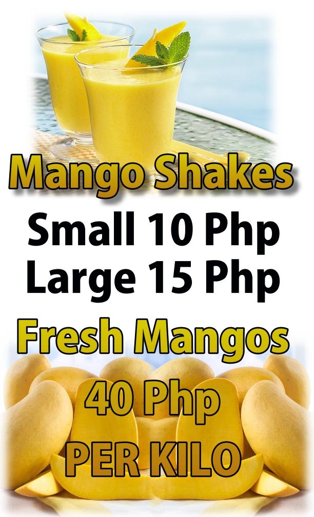 Mango Shakes Made Fresh