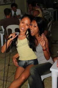 Karaoke at Merlenes Cebu Eatery Restaurant