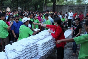 Hands of Mercy Christmas Feeding Program Cebu Philippines