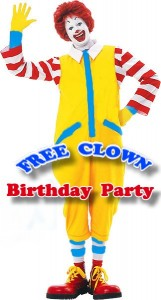 Kids Birthday Party Cebu Catering Package Clown
